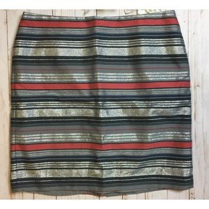 Banana Republic short pencil skirt size 10